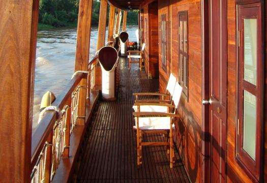 Luxury Cruising on Mekong Delta